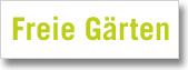 Kleingartenvereine mit freien Gärten